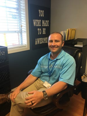 Ryan Scott, newly appointed principal at Morganfield Elementary.