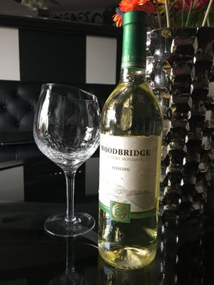 Woodbury riesling retails for about $9 in the Utah liquor store.
