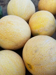 Melons from Paper Crane Farm.