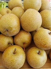 Asian pears from McConnell Farms.