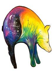 """A Pig's Dream"" by Abbi Kay."