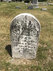 John A. Clippenger was 13 years old when he fell and