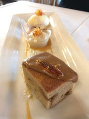 Butterscotch was the star flavor of dessert at Veraisons