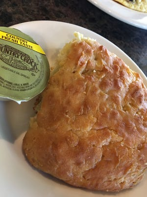 The biscuits at the Twisted Birch in Rockledge are big, warm and delicious.