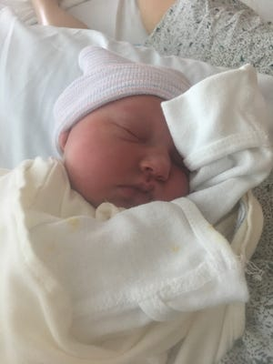 Ellie Elizabeth LaRose was born at 4:26 a.m. on Aug. 6. When her parents realized they weren't going to make it to the hospital in time, her father, Phillip LaRose, delivered her himself in their Jackson Township home.