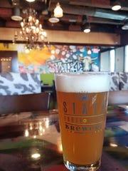 The Van Buren Blonde beer from State 48 Brewery.