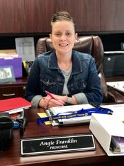 Angie Franklin is a principal in Rapides Parish at Mabel Brasher Montessori.