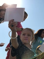 Hurley Elementary students experience the total solar