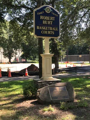 The courts were dedicated in 2015 to the late Montclair High School basketball coach Robert S. Hurt.