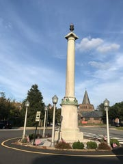 Rutherford's WWI monument