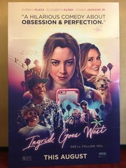 "A huge poster of ""Ingrid Goes West"" at Century Theatres at The River in Rancho Mirage."