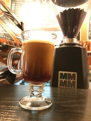 Cold brew coffee is exclusively on nitro at Patina