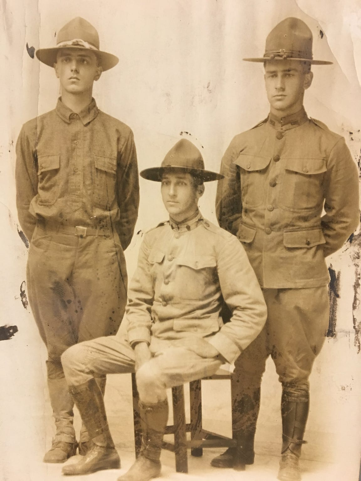 The Kreichbaum brothers of Chambersburg served during