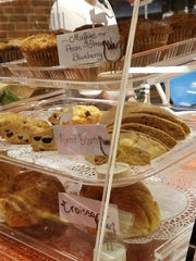 Baked goods at River Kitty Cat Cafe are made by Just Rennie's and Cindy Vescovi.