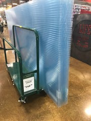 Hurricane panels for sale at Orchard Supply Hardware in Naples on Tuesday, Sept. 5, 2017.