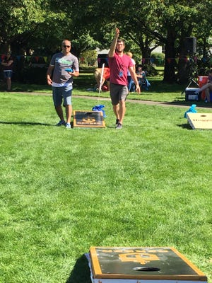 Capital City Cornhole Classic: This outdoor, friendly competition cornhole tournament features local food trucks, craft beer and activities for the whole family, including a cornhole challenge course, open boards and kids crafts, so you don't even need to be part of the tournament to have fun, 10 a.m. to 5 p.m. Saturday, State Capitol State Park, 155 Waverly St. NE, Salem. Free and all ages are welcome; entry fees are $45 per two-player team. Register by noon Sept. 8. shangrilaoregon.org.