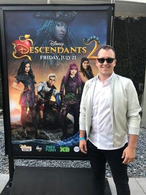 """Stephen Conley wrote """"Space Between"""" for Disney's """"Descendants 2""""."""