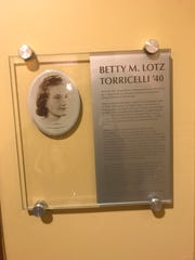 Montclair State University now has the Betty Lotz Torricelli