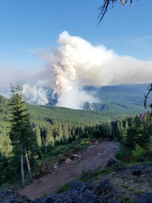 Fires in Oregon continue to burn and use available resources.
