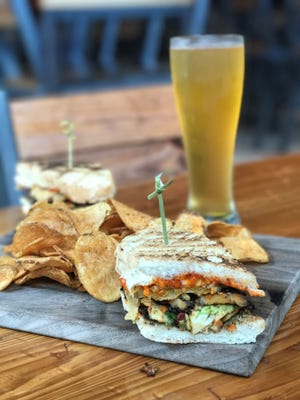 If you're expecting the average BLT, this sandwich from Playalinda Brewing Company's The Brix Project will surprise you.