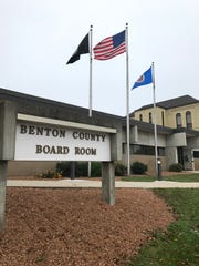 The Benton County government offices in Foley, Minnesota,