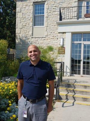 Kosta Zervas, the new director of the Hart Park Senior Center has grown up in Wauwatosa.