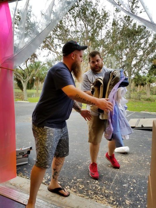 Indiana men deliver supplies to Bonita Springs