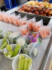 """School """"lunch lady"""" Connie Reuter says while students complained about the healthier changes to their school lunches at first, now they are more willing to try new foods and enjoy fruits and vegetables."""