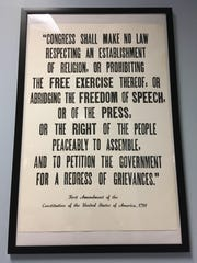 The First Amendment of the Constitution of the United