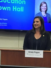 State Rep. Kristy Pagan hosted a town hall-style forum