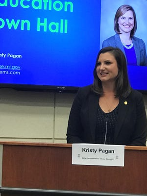 Voters returned Canton Democrat Kristy Pagan for a third term in the state House 21st District.