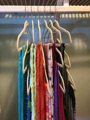If you have enough hanging space in your closet, this
