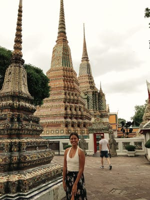 Visit Wat Pho, the Temple of the Reclining Buddha in Bangkok, Thailand.