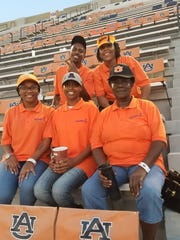 Auburn concession workers: (L to R) front row – Zakiya
