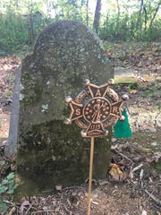 The grave of Capt. John Young, who fought in the Revolutionary