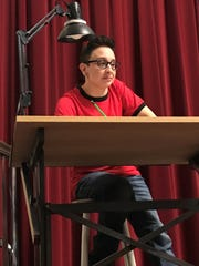 Samantha Maidlow of Keyport is playing adult Alison Bechdel NENAproductions Theater Project's 'Fun Home.'