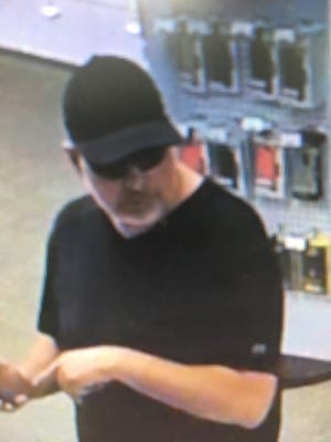 Gallatin Police are looking for this man who entered the  Sprint store at 1545 Nashville Pike #103 and said he was the reincarnated devil sent from Las Vegas.  He was carrying a pocket knife in his hand.