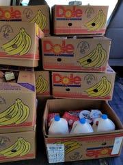 Each day, St. Vincent de Paul volunteers load thousands