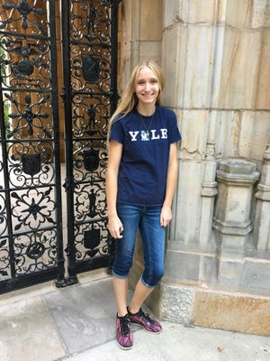 Helia Gagnon credited a teacher and counselor at Wittenberg-Birnamwood High School for helping her get into Yale.