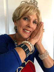 Susie Wasdin still has the tiara she wore as homecoming queen in 1966 at Cocoa Beach High School.