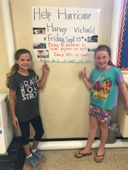 A simple pajama and hat day at Lakeview Elementary