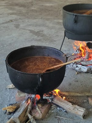 Fall is chili time. A big batch of the spicy red stuff is a wonderful way to feed a group of friends on a cool afternoon.