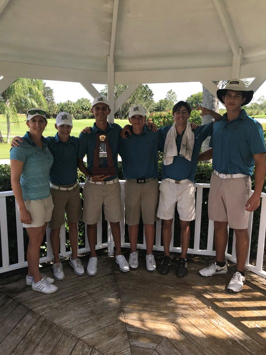 Gulf Coast boys golf