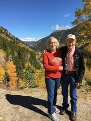 B.J. and Sharon Lusk visit the Guanella Pass near Georgetown, Colorado.