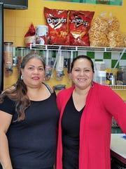 Owners Adriana Gutierrez, left, and Elsa Estrada, right,