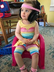 Cordelia Burrows, 2, of Staunton was diagnosed with