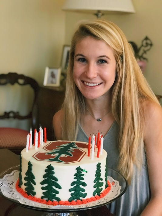 Rebecca Story Stanford cake