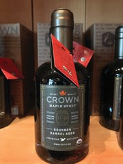 Crown Maple's Bourbon Barrel Aged maple syrup is the fast growing maple product in the country.
