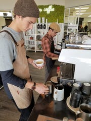 Owner Noah Hayden and Barista David Taylor don't just
