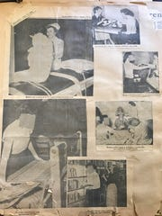 In 1954, The Town Talk documented the admission and treatment of patients at Central Louisiana State Hospital. The coverage included pictures of patients whose faces were blanked out.